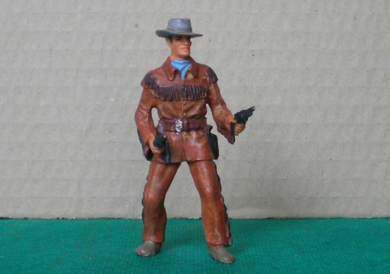 Bemalungen, Umbauten, Modellierungen - neue Cowboys für meine Dioramen 180c1_10