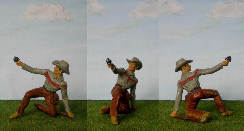 Bemalungen, Umbauten, Modellierungen - neue Cowboys für meine Dioramen 180j1_10
