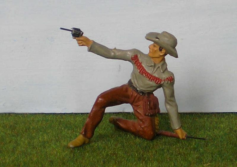 Bemalungen, Umbauten, Modellierungen - neue Cowboys für meine Dioramen 180j2_10