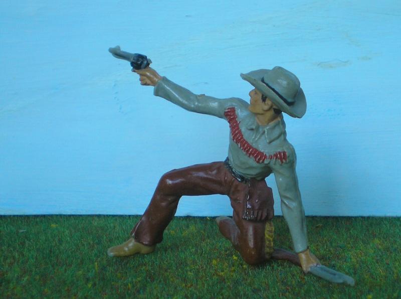 Bemalungen, Umbauten, Modellierungen - neue Cowboys für meine Dioramen 180j3b10