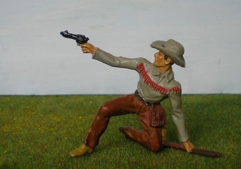 Bemalungen, Umbauten, Modellierungen - neue Cowboys für meine Dioramen 180j4b10