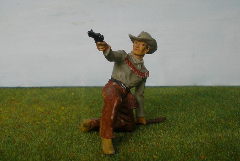 Bemalungen, Umbauten, Modellierungen - neue Cowboys für meine Dioramen 180j4c10