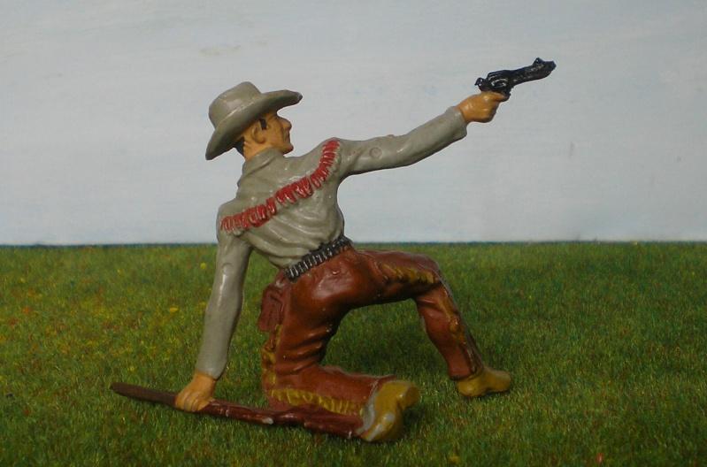 Bemalungen, Umbauten, Modellierungen - neue Cowboys für meine Dioramen 180j4d10