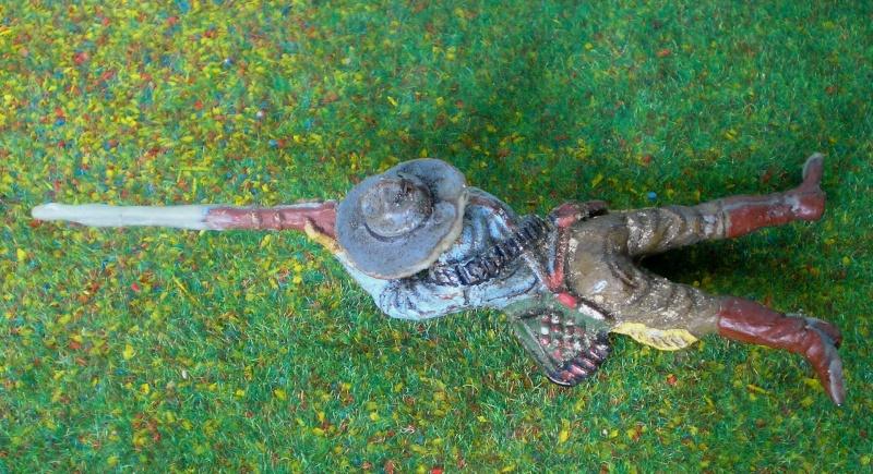 Bemalungen, Umbauten, Modellierungen - neue Cowboys für meine Dioramen 180k2a10