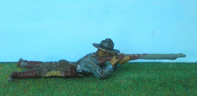 Bemalungen, Umbauten, Modellierungen - neue Cowboys für meine Dioramen 180k2b10