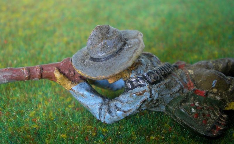 Bemalungen, Umbauten, Modellierungen - neue Cowboys für meine Dioramen 180k2c10