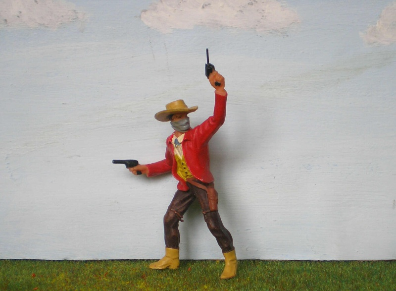 Bemalungen, Umbauten, Modellierungen - neue Cowboys für meine Dioramen 180m2_10