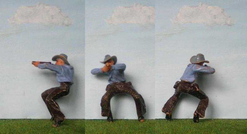 Bemalungen, Umbauten, Modellierungen - neue Cowboys für meine Dioramen 180n1_10
