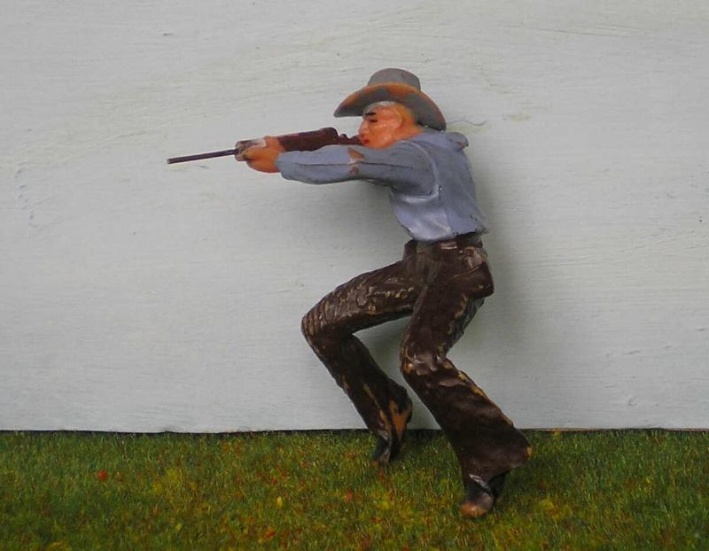 Bemalungen, Umbauten, Modellierungen - neue Cowboys für meine Dioramen 180n2_10