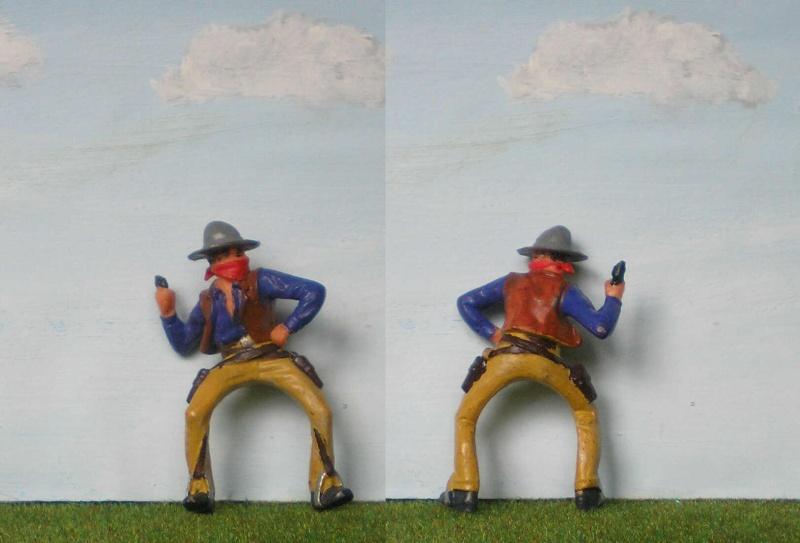 Bemalungen, Umbauten, Modellierungen - neue Cowboys für meine Dioramen 180o1_10