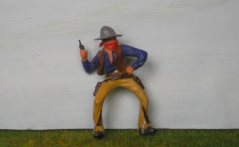 Bemalungen, Umbauten, Modellierungen - neue Cowboys für meine Dioramen 180o2_10