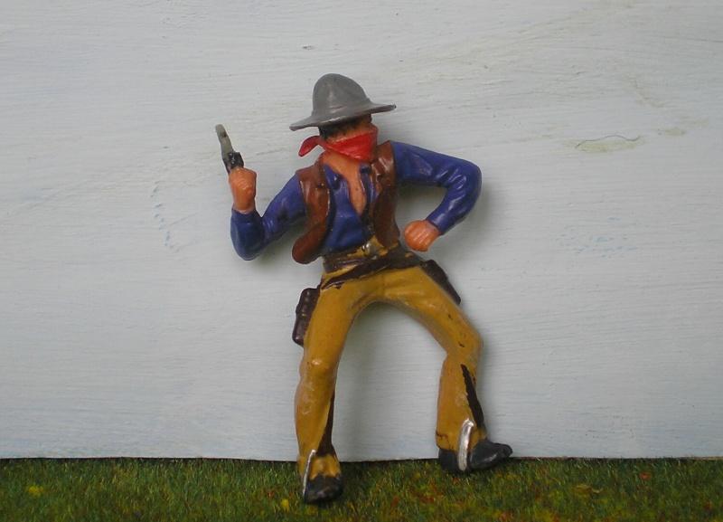 Bemalungen, Umbauten, Modellierungen - neue Cowboys für meine Dioramen 180o3_10
