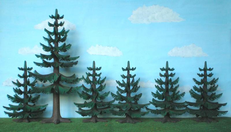 Gestaltung eines Dioramas mit den Tannen von Playmobil Tannen11