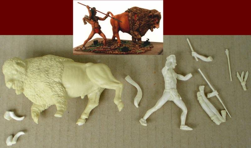 Bemalungen, Umbauten, Modellierungen – neue Indianer für meine Dioramen Tomker10