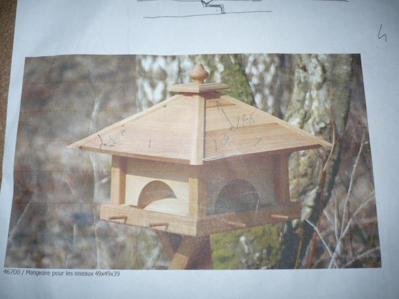 réalisation d'une mangeoire pour oiseaux P1050311