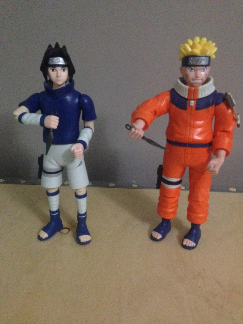 2 Personaggi NARUTO 30cm con SUONI Naruto10