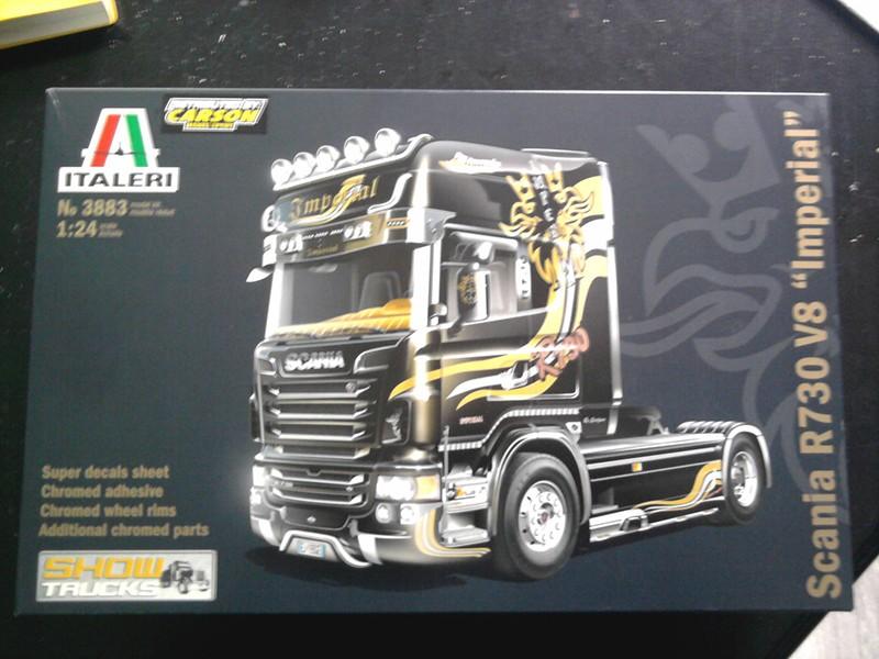 """Italeri Scania R730 V8 Topline """"Imperial"""" 1.24 000010"""