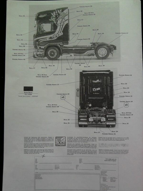 """Italeri Scania R730 V8 Topline """"Imperial"""" 1.24 01_21"""