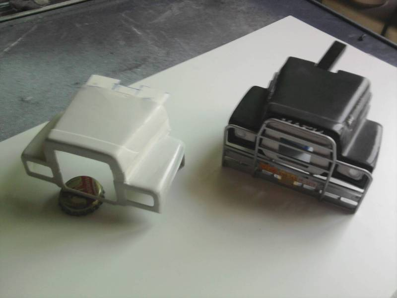 Mini BB vom Umbau Mack R600 Haube 03_12