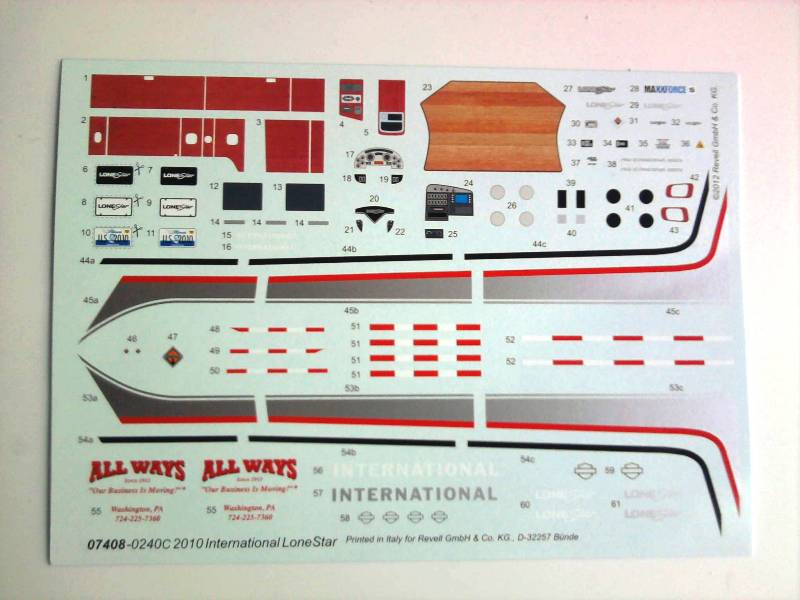 Revell International Lone Star 1:25 06_14