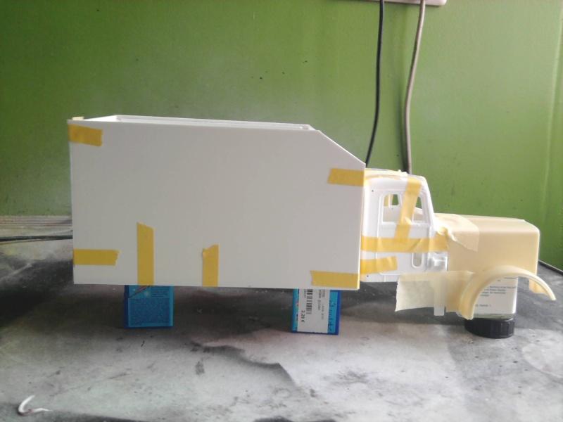 Peterbilt 379 mit 180 inch Sleeper 1:24 Foto0814