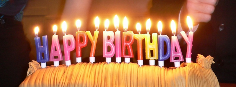 Happy Birthday gravel! Birthd20
