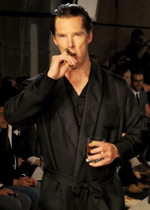 Benedict Cumberbatch is a Total Doofus  (to annoy Norc) - Page 2 Tumblr24