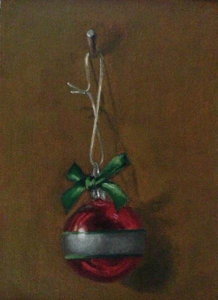 Painting #71:  Ho! Ho! Ho! Orname10