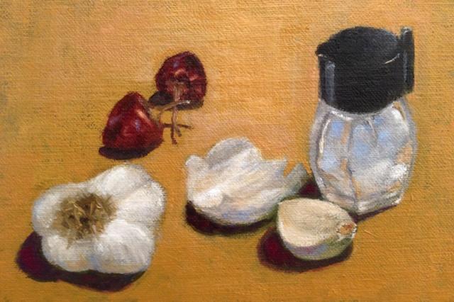 Painting #76: Raiding the Pantry Pantry10