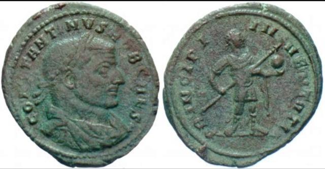 Follis de Constantin I César 1e072910