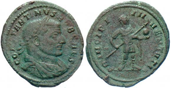 Follis de Constantin I César 431d8110