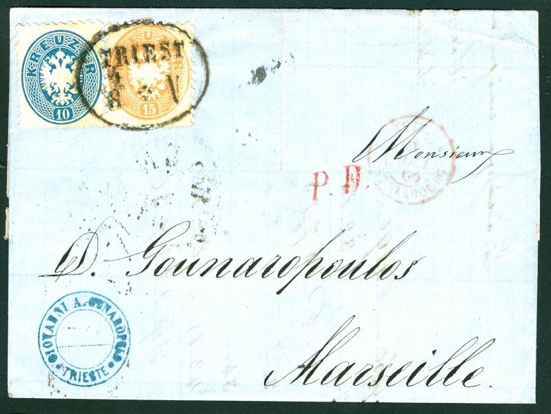 Die Freimarkenausgabe 1863/1864 1015_k10