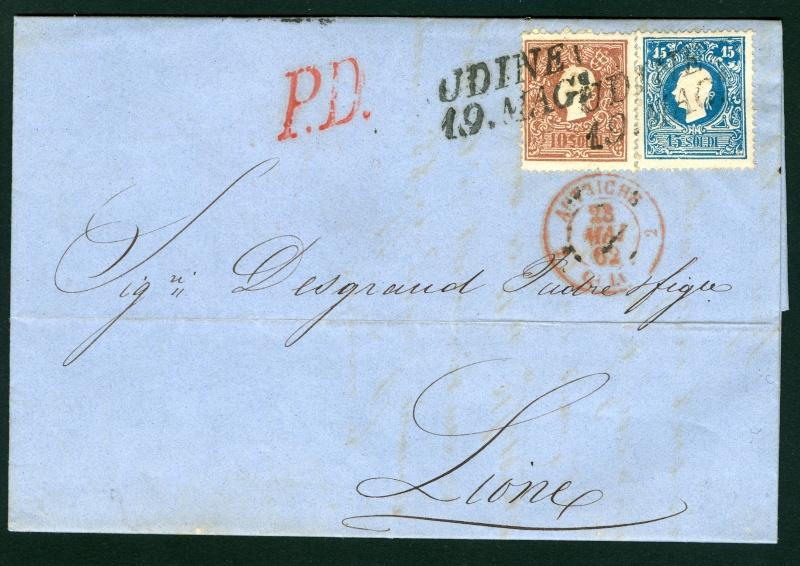 Lombardei-Venetien, Ausgabe 1858/62, 1859/62 1015_s10