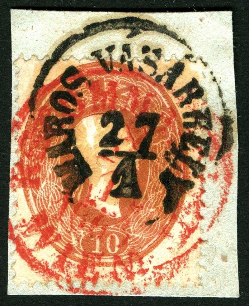 Die Freimarkenausgabe 1861 10_kr_17