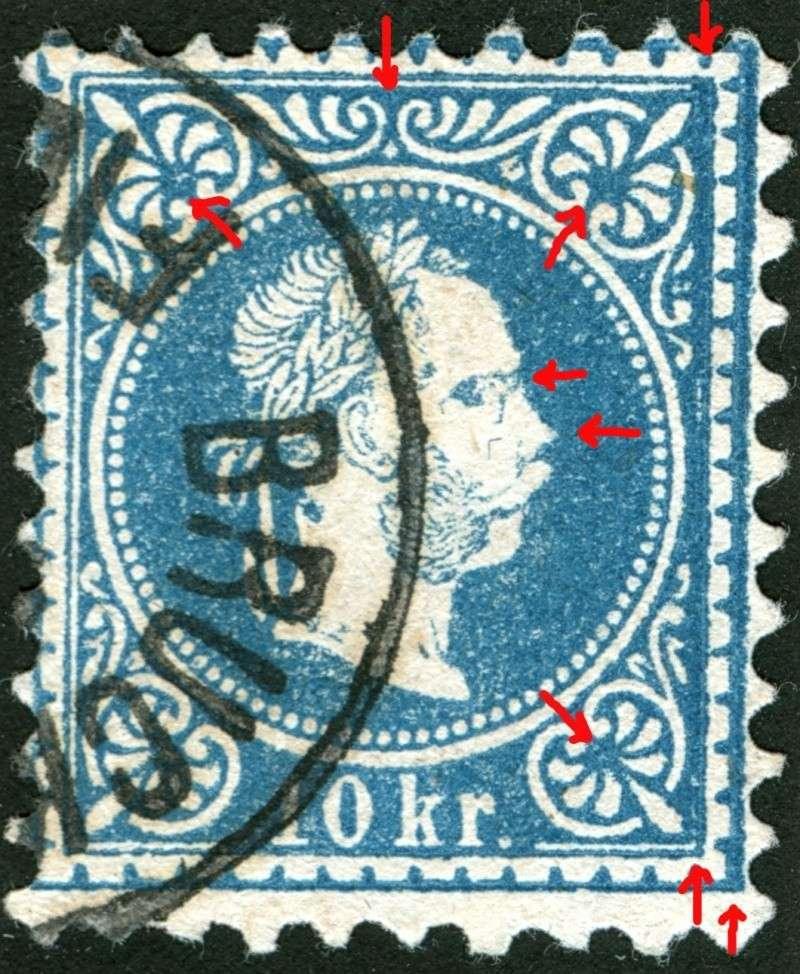 Freimarken-Ausgabe 1867 : Kopfbildnis Kaiser Franz Joseph I - Seite 5 10_kr_24