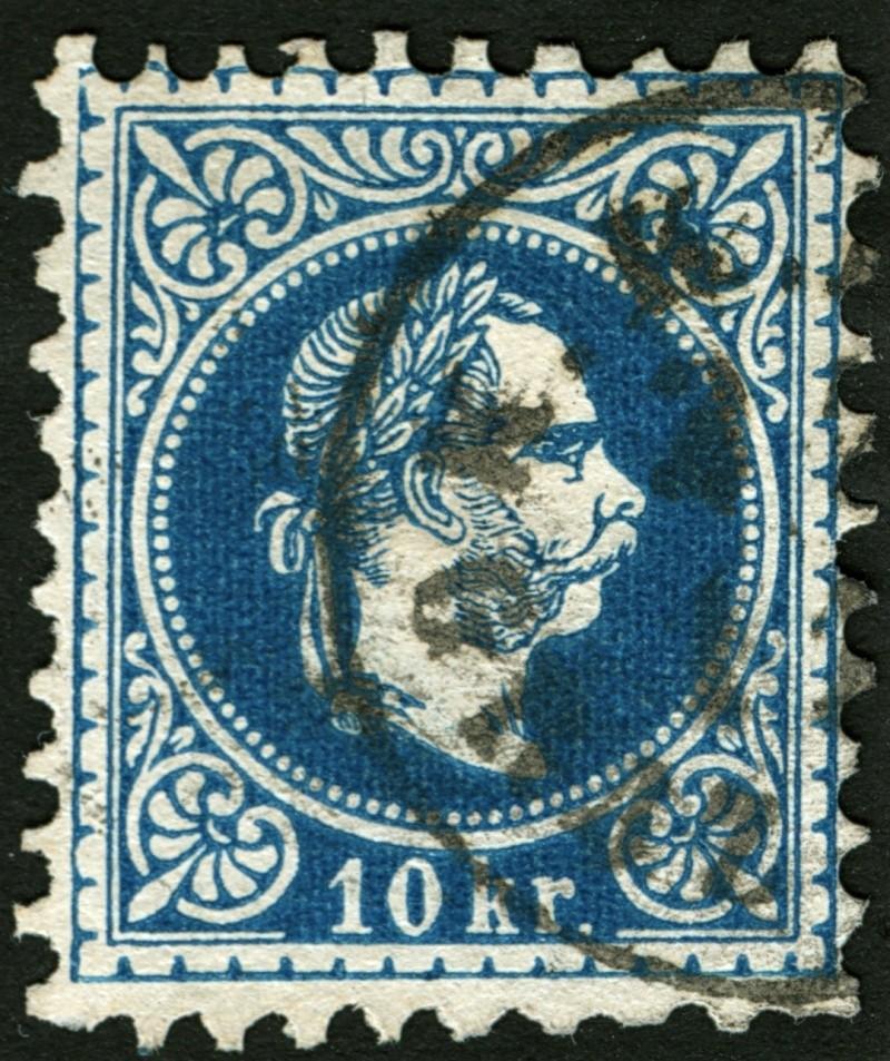 Freimarken-Ausgabe 1867 : Kopfbildnis Kaiser Franz Joseph I - Seite 5 10_kr_26