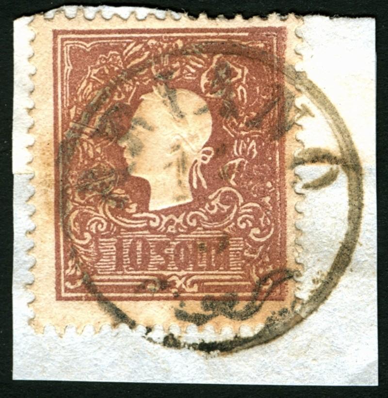 Lombardei-Venetien, Ausgabe 1858/62, 1859/62 10_sol10
