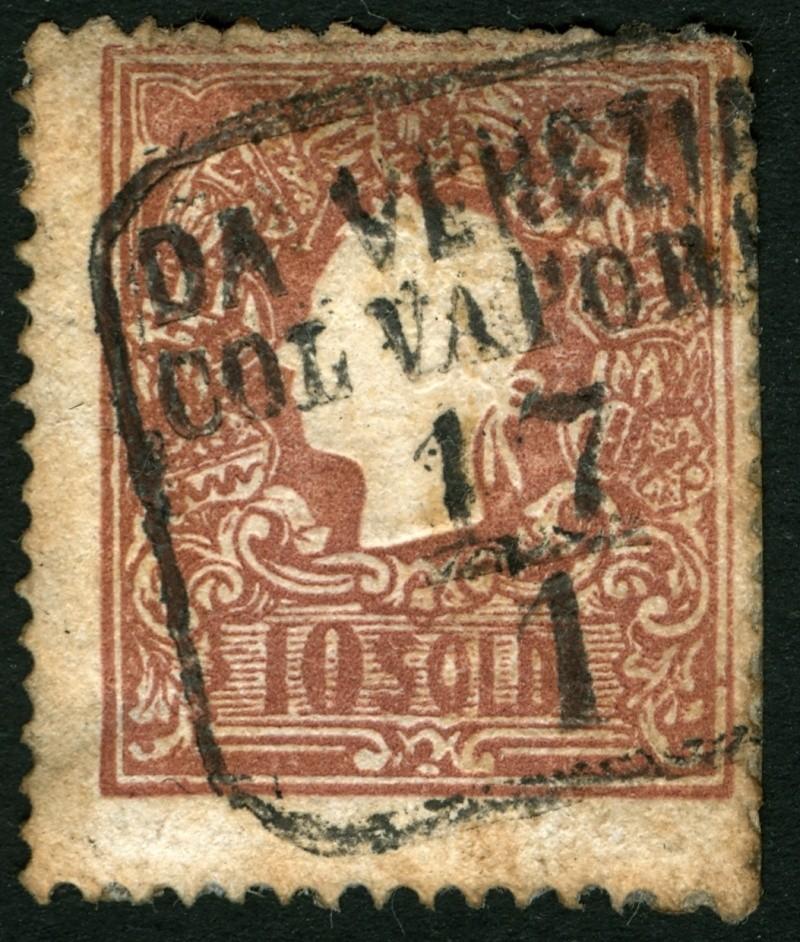 Lombardei-Venetien, Ausgabe 1858/62, 1859/62 10_sol11