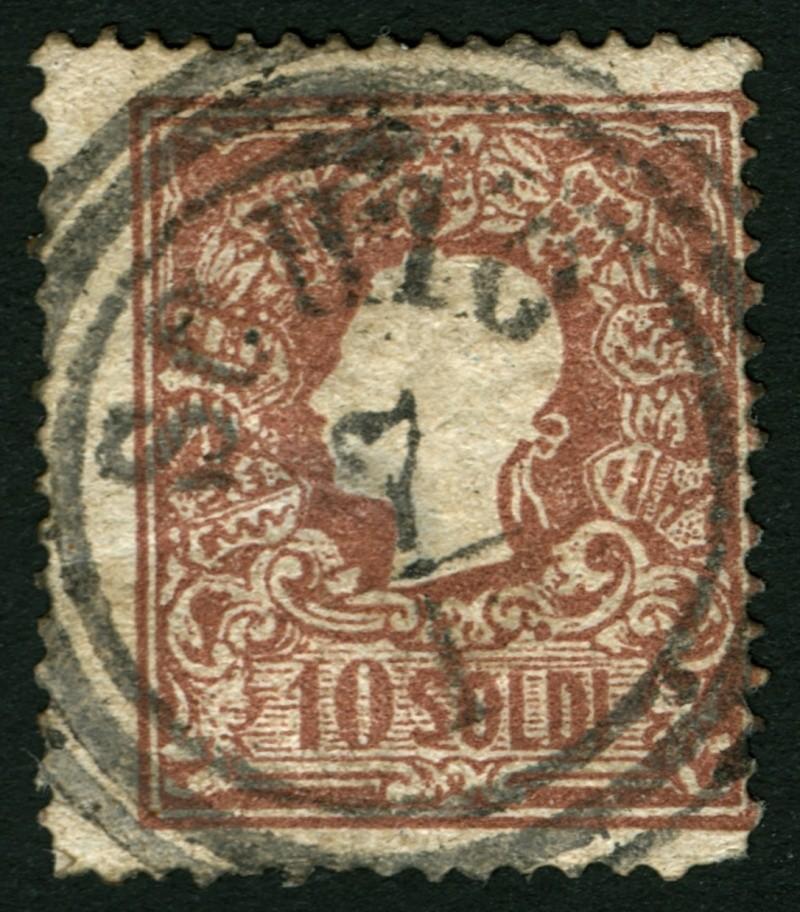 Lombardei-Venetien, Ausgabe 1858/62, 1859/62 10_sol12