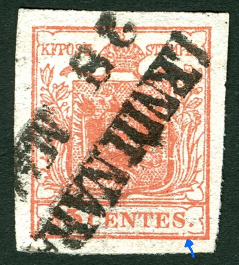 Lombardei - Venetien 1850 - 1858 15_cen11
