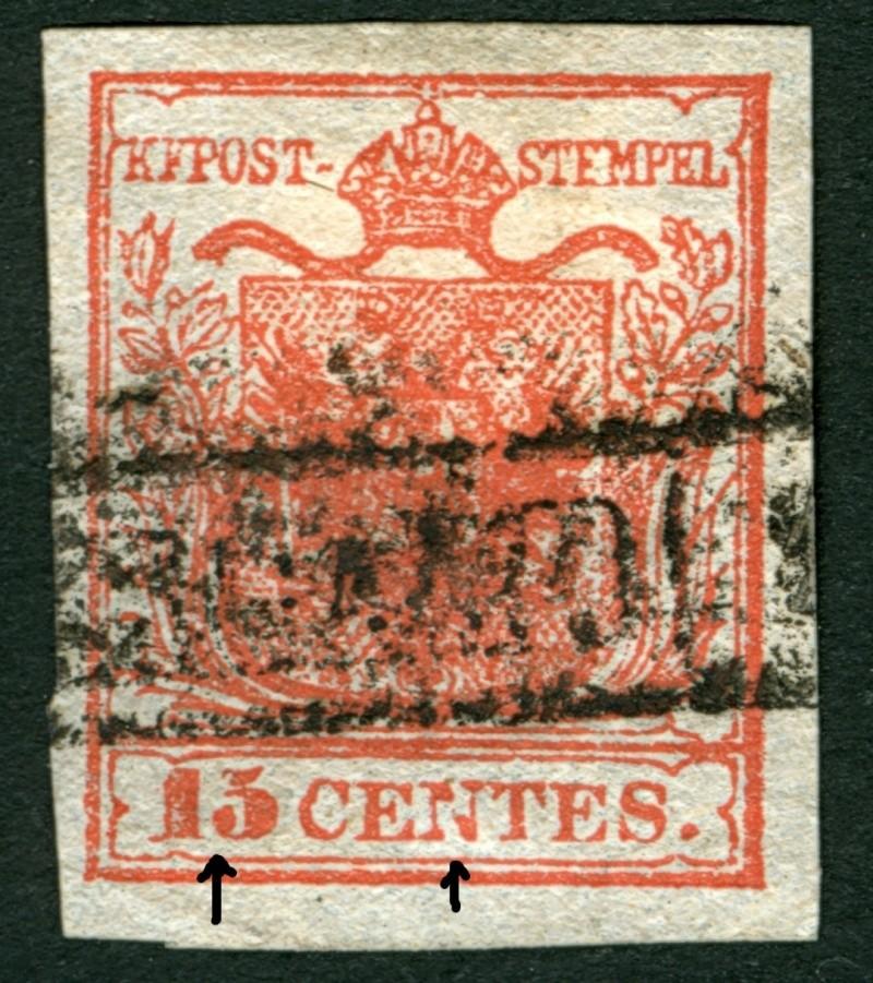 Lombardei - Venetien 1850 - 1858 - Seite 2 15_cen13
