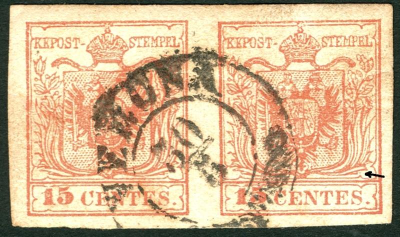 Lombardei - Venetien 1850 - 1858 - Seite 2 15_cen26