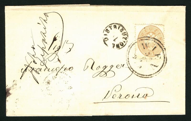 Die Freimarken-Ausgabe  1863 15_kr_13