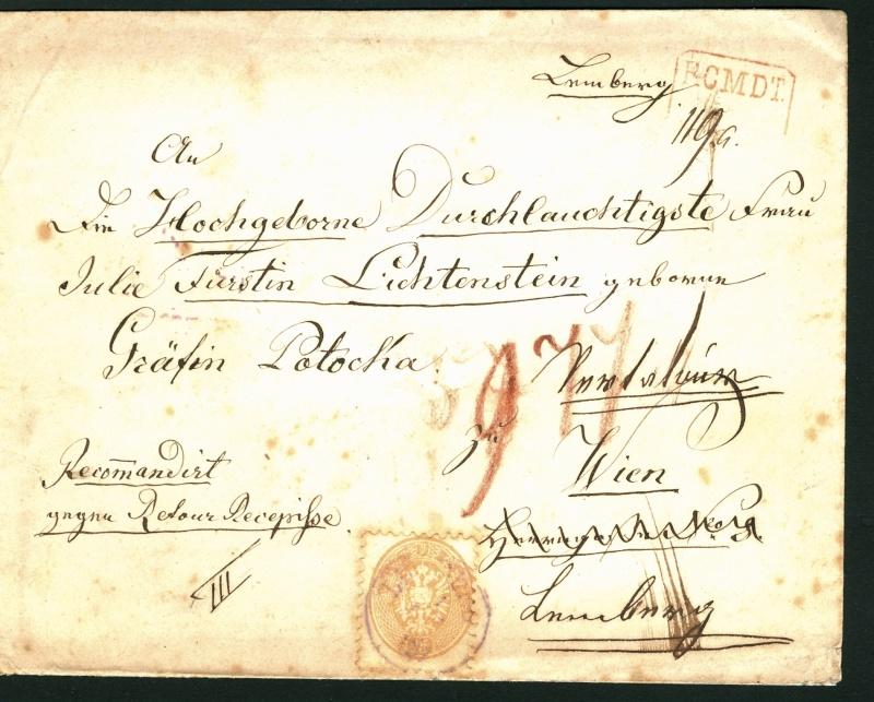 Die Freimarkenausgabe 1863/1864 15_kr_14