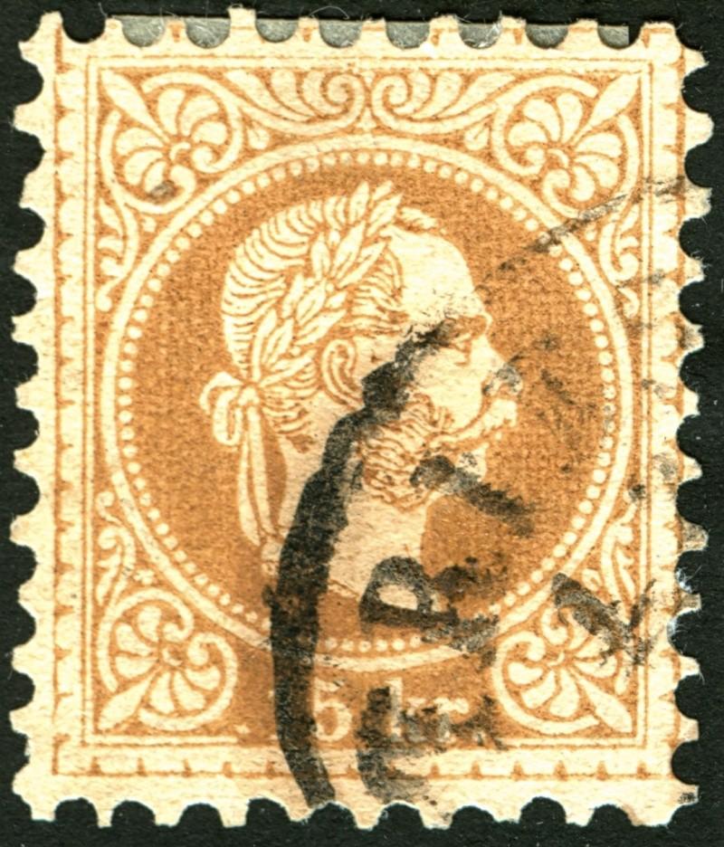 Freimarken-Ausgabe 1867 : Kopfbildnis Kaiser Franz Joseph I - Seite 5 15_kr_15