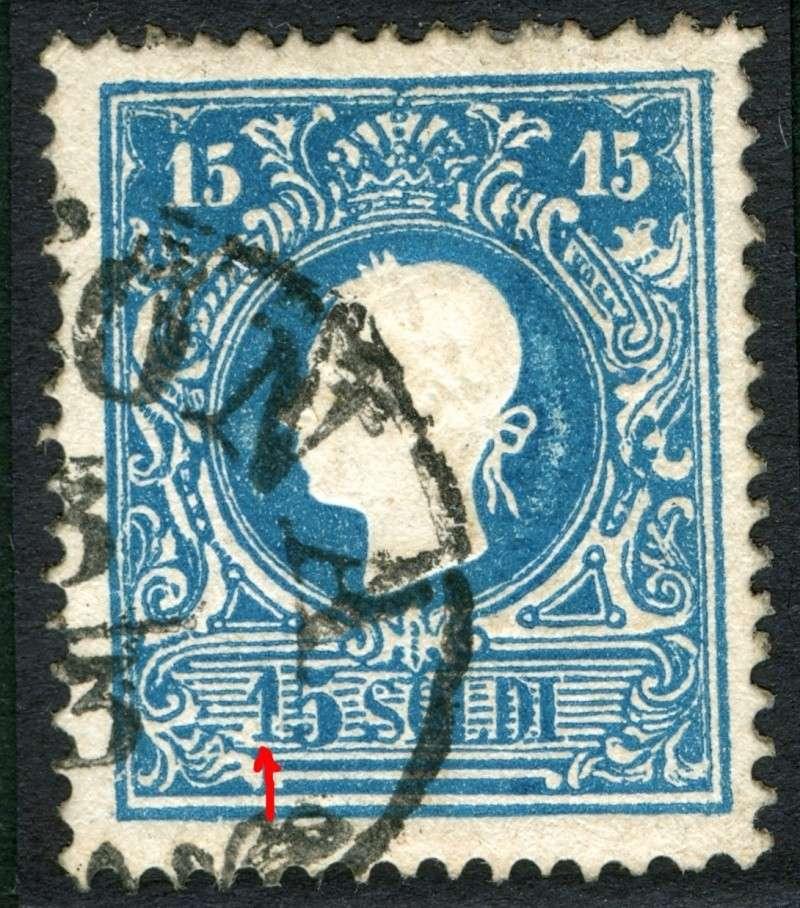 Lombardei-Venetien, Ausgabe 1858/62, 1859/62 15_s_p14