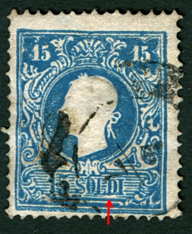Lombardei-Venetien, Ausgabe 1858/62, 1859/62 15_s_p15