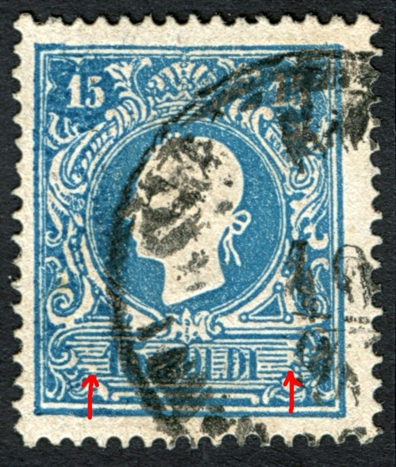 Lombardei-Venetien, Ausgabe 1858/62, 1859/62 15_s_p16