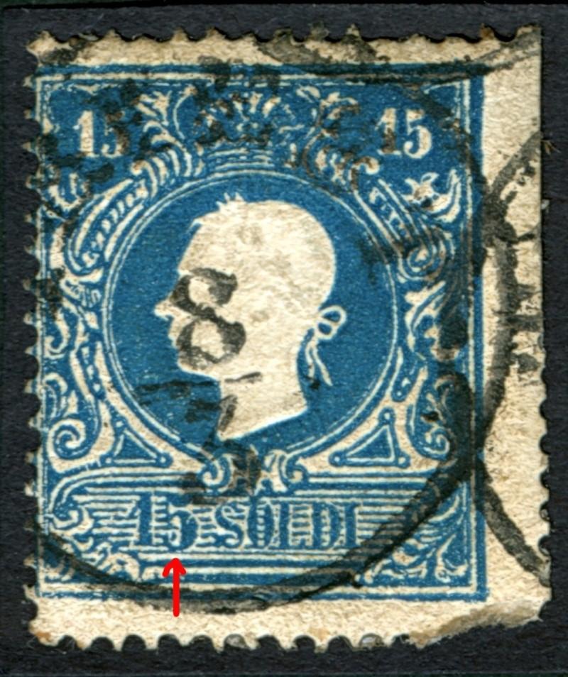 Lombardei-Venetien, Ausgabe 1858/62, 1859/62 15_s_p21