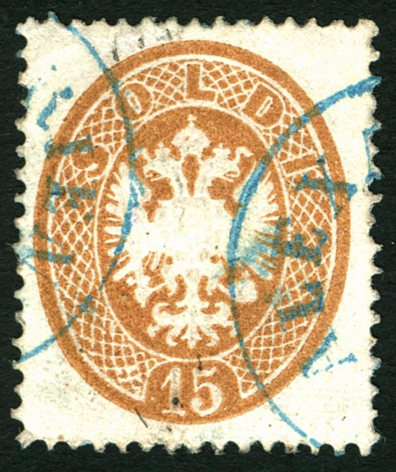 Lombardei-Venetien, Ausgaben 1863 und 1864 15_sol10